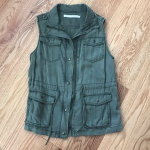 Jackets & Blazers - $99 Max Jeans Military Style Long Jacket Vest